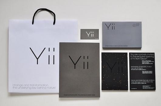 Yii - Brand identity on the Behance Network #business #branding #materials #identity #logo