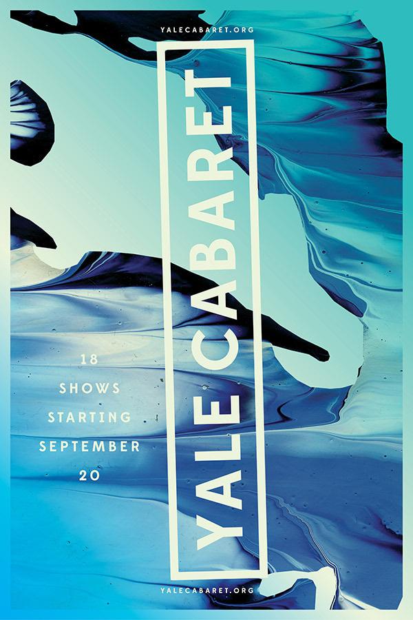 Yale Cabaret Jessica Svendsen #type #layout #design #graphic