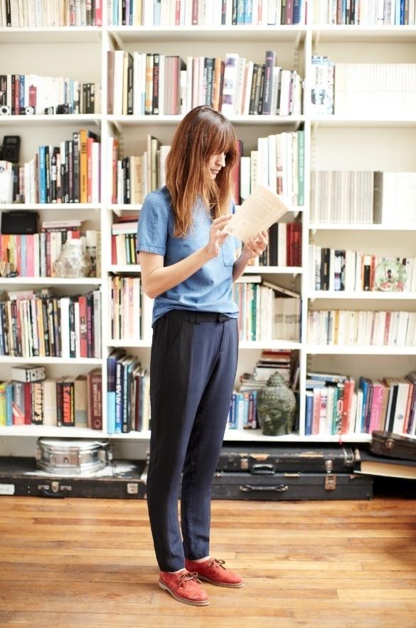 Two Tone Silk Pants #fashion #women