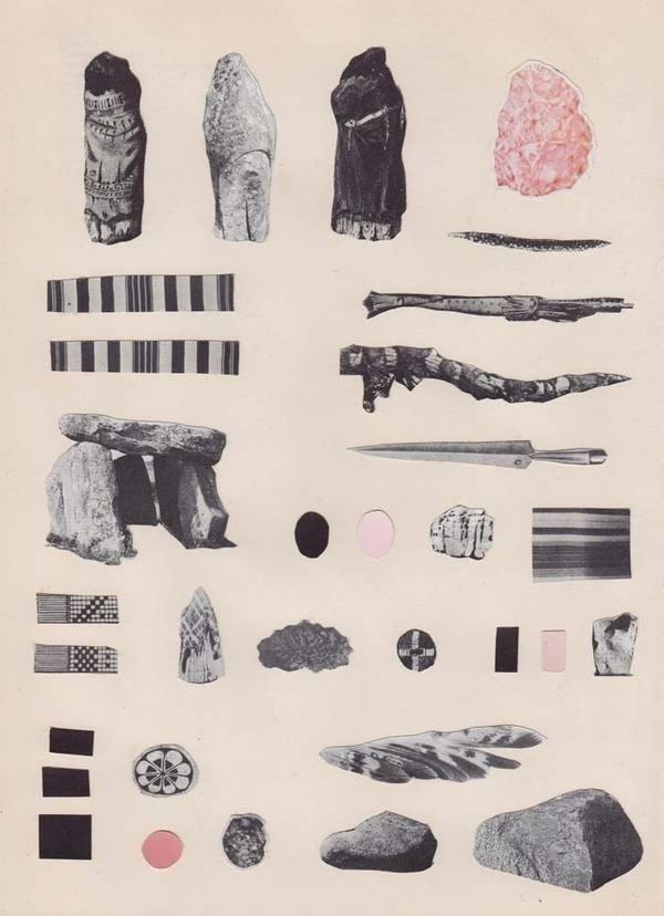 Matthew Craven FRGMNTS, Gallery Hijinks SF REDEFINE magazine #white #pattern #black #poster #and #collage