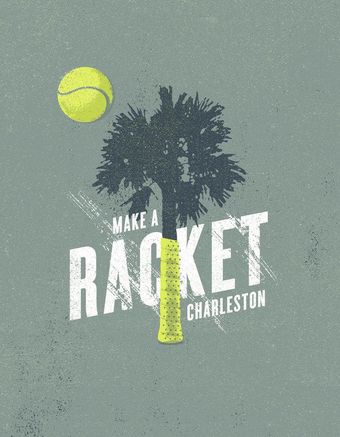 FAMILY_CIRCLE_CUP_TREE_RACQUET_J_FLETCHER_DESIGN #illustration #tea #tennis #poster