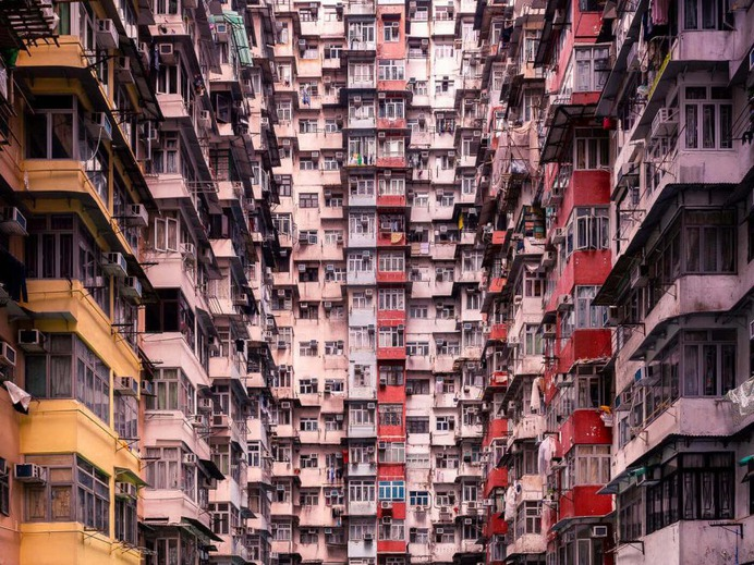 Impressive Architecture Photography in Hong Kong by Thibaud Poirier