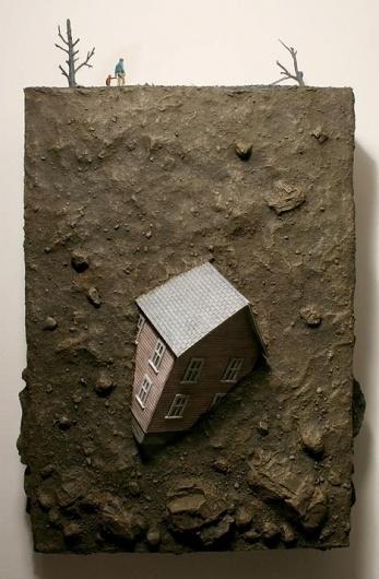 Firing for Effect by Thomas Doyle #doyle #sculpture #suburbia #thomas #art #miniature
