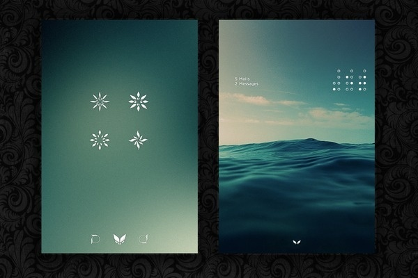 Minimal android theme #ux #ui #mobile #minimal #android