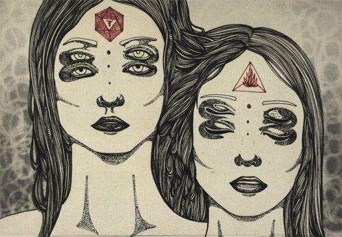 Tumblr #eye #illustration #third