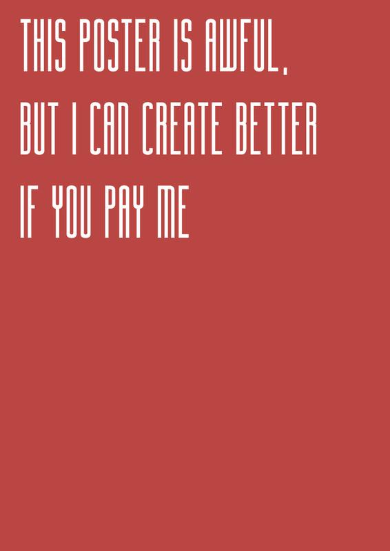 I Need a Job! #job #print #design #graphic #cover #illustration #poster #work