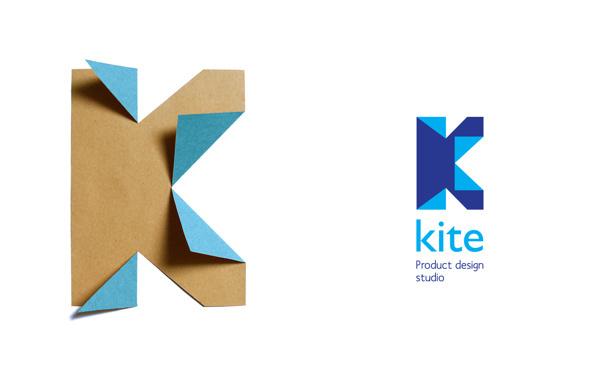 logos on Behance #craft #origami #handmade #kite #logo