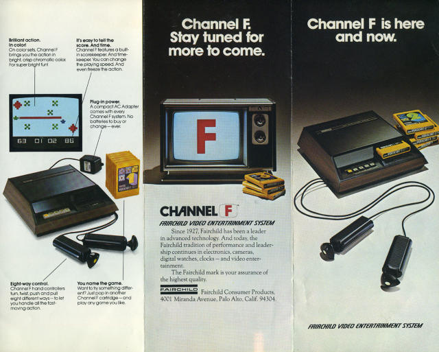 The Untold Story Of The Invention Of The Game Cartridge | Fast Company | Business + Innovation #electronics #fairchild #yellow #woodgrain #f #gaming #vintage #cartridge #channel #game