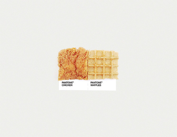 Pantone Pairings Dschwen LLC / Selected Design #waffles #color #brown #chicken #pantone