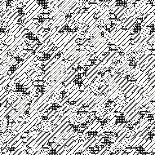 Camouflage Patterns Rendered with MacPaint Patterns – Sulki & Min