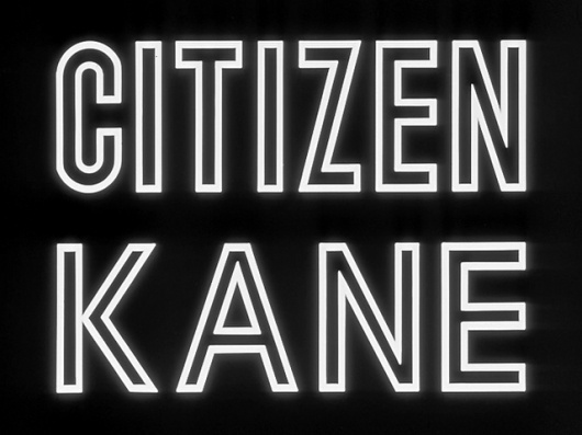 1940 - 1944 | The Movie title stills collection #1940s #movie #title #kane #citizen #moives
