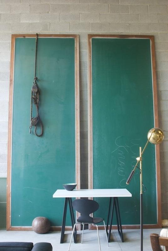 Mammoth Vintage School Chalkboards : Factory 20 #interior #school #design #chalkboard