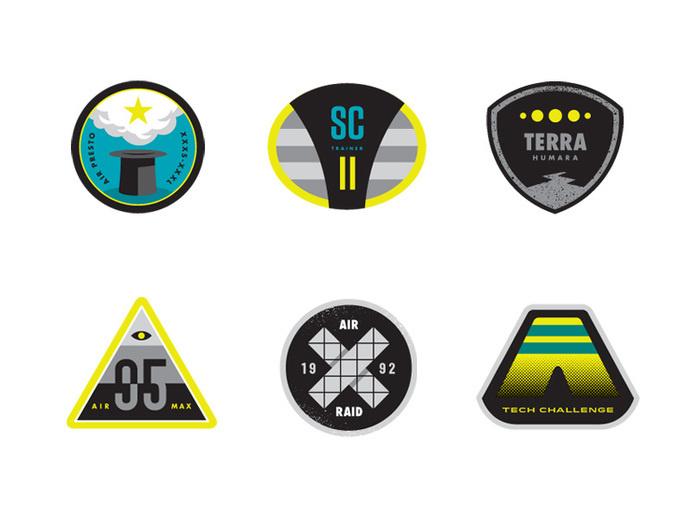 Sneaker Mission Badges 1 #badge #stevens #matt #nike #sneaker #mission