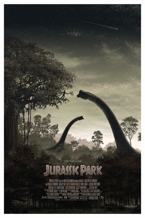 Mondo: The Archive | JC Richard Jurassic Park, 2011 #movie #poster