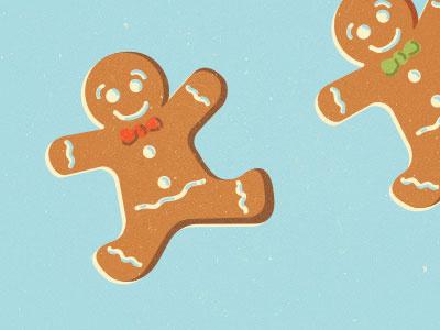 #gingerbreadman #holiday #illustration