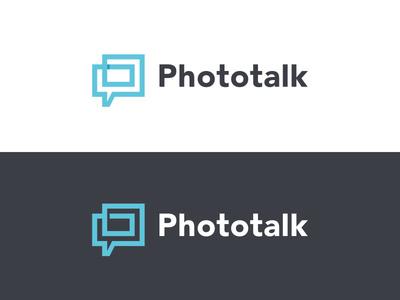 Phototalk Logo #branding #logo #identity