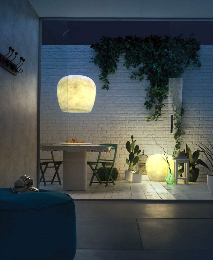 Fiberglass Outdoor Lighting - #lamp, #design, #lighting, lights, lighting design