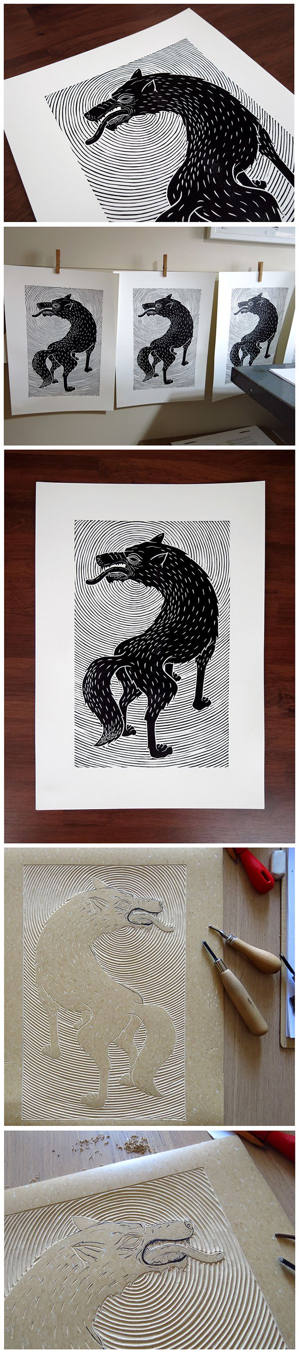 The Wolf on Behance