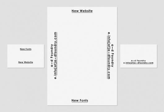 Family +44 7595 746 785 | A-D Foundry (Identity) #print