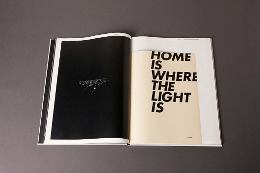 LICHT – Eine experimentelle Auseinandersetzung #editorial #magazine #typography