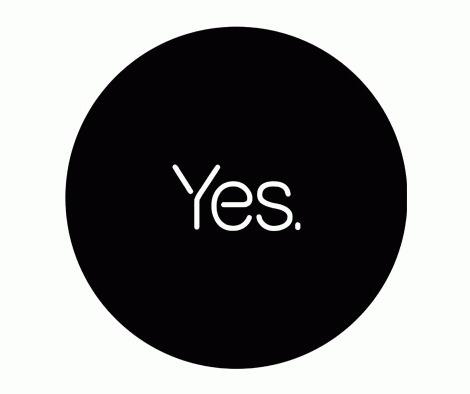 NOooo…! | iainclaridge.net #type #logo #black and white #circle #symbol