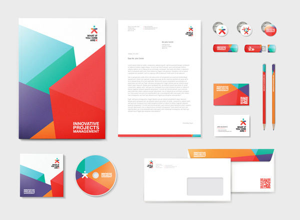 What if you hire Arek brand identity + web on Branding Served #identity #stationery