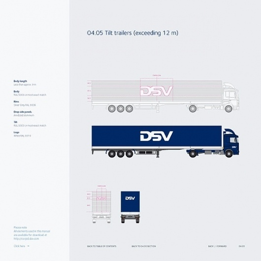 Corporate & Brand Identity - DSV, Denmark on the Behance Network #branding #guide #guidelines #corporate #style