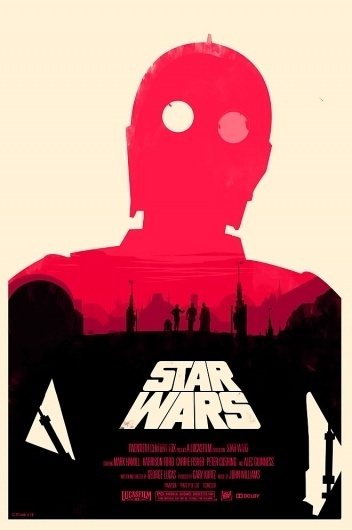 SI Exclusive: Print-Process × Build | September Industry #movie #c3po #wars #poster #star