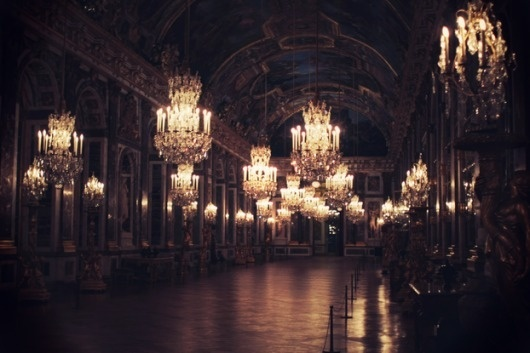 The cherry blossom girl #versailles #crystal #chandelier