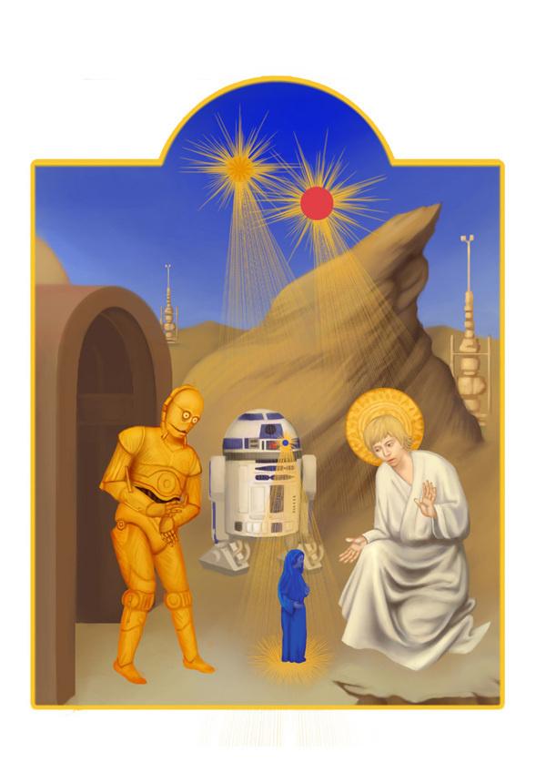 Star Wars in Manuscript on the Behance Network #illustration