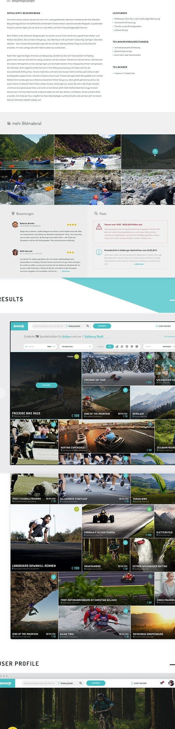 Woosp Website Redesign on Behance #web