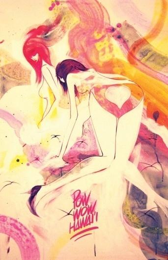 Pow Wow Hawaii - BOOOOOOOM! - CREATE * INSPIRE * COMMUNITY * ART * DESIGN * MUSIC * FILM * PHOTO * PROJECTS #sexy #will #girls #barras #hawaii #paint