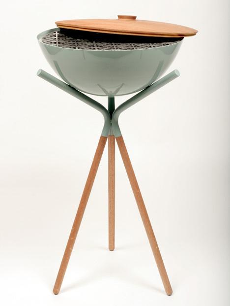 Druida barbecue by Mermeladaestudio #bbq #grill #pattern #elegant