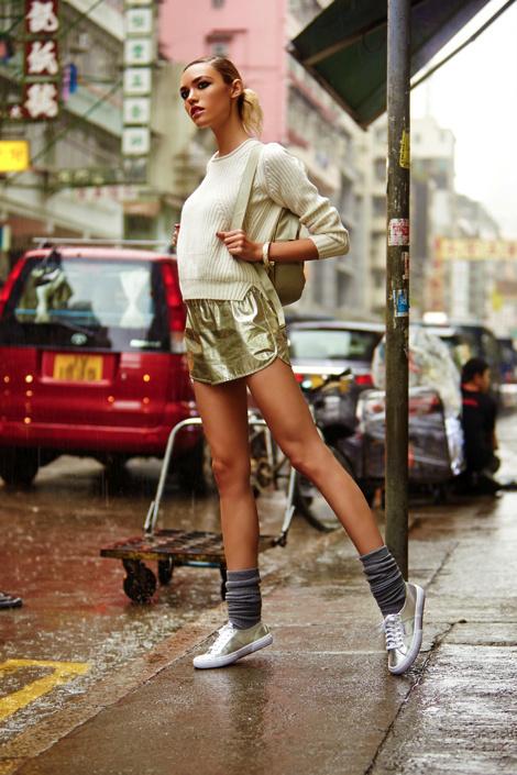 Кора Киган для зимнего лукбука REVOLVE #girl #fashion #photography #fashion photography #model