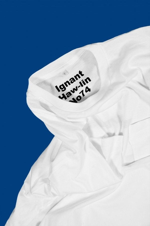 Ignant x Haw lin x No74 T Shirt/Handkerchief | Haw lin Services #label