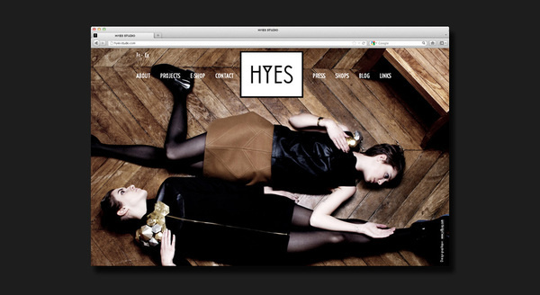 HYES studio #design #graphic #direction #art #webdesign