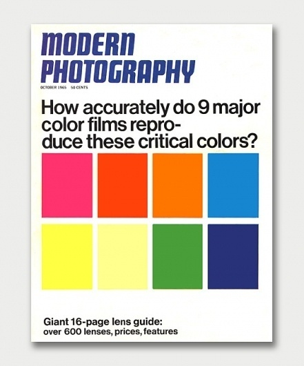 Modern Photography – October, 1965 / Aqua-Velvet #modern #color #photography #manual #brochure #typography