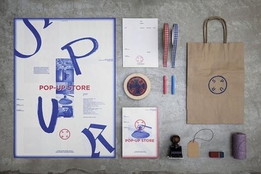 Spur Pop-Up #print #design #graphic #poster