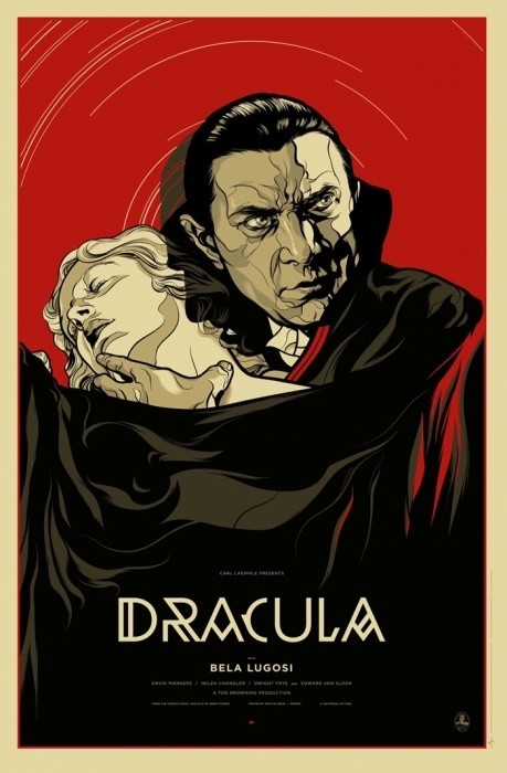 Mondo: The Archive | Martin Ansin Dracula, 2011 #movie poster