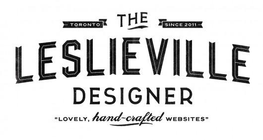 Dribbble - Leslieville 2.png by Simon Walker #type #lettering #logo