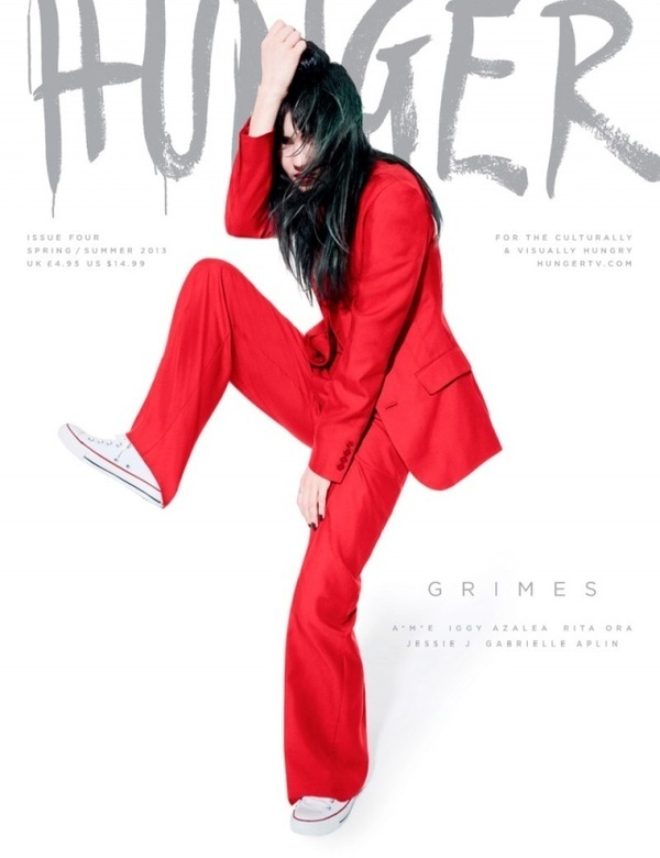 Hunger Magazine releases a six cover spring issue including Jessie J, Rita Ora, Grimes, Iggy Azalea, Gabrielle Aplin and A*M*E, photographed #fashion #photography #inspiration