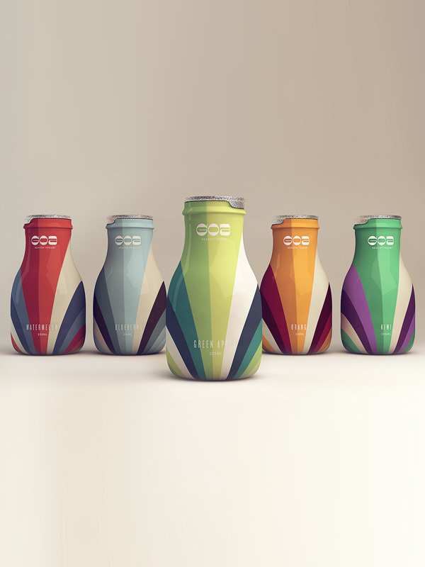 Goa- Healthy Yogurt by Isabela Rodrigues on Behance #packaging #yogurt