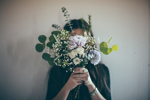 Likes | Tumblr #flower #vintage #girl
