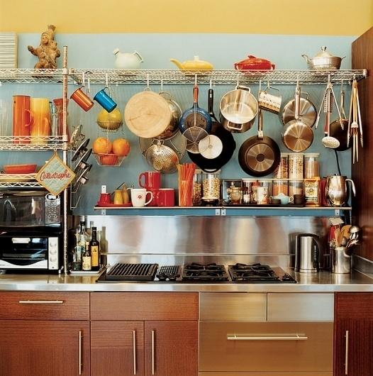 bernier-house-kitchen.jpg (638×642) #interior #kitchen #color #home