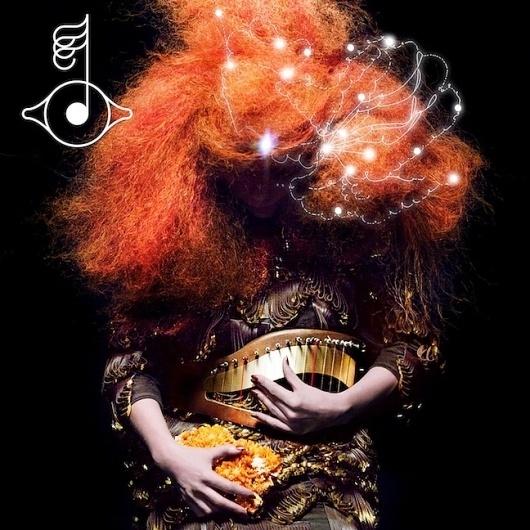 Video: Björk: #illustration #photography #graphic #female