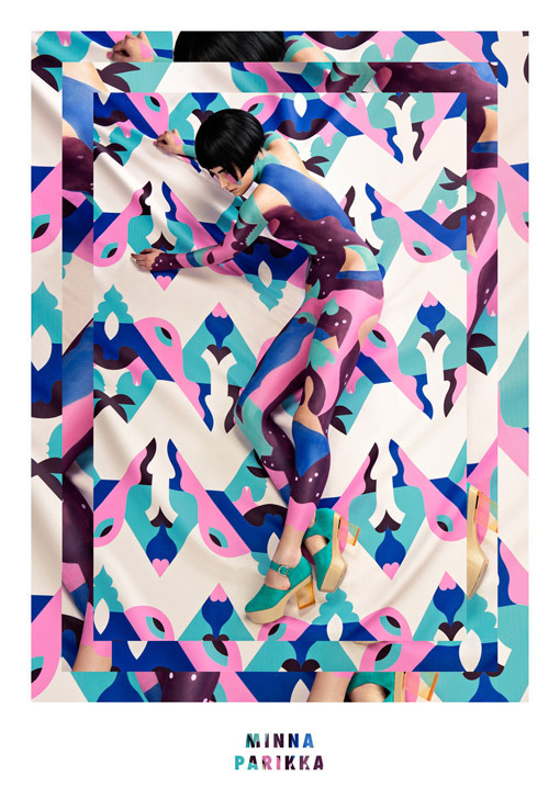 Janine Rewell: Minna Parikka / on Design Work Life #fashion #photography #patterns #color