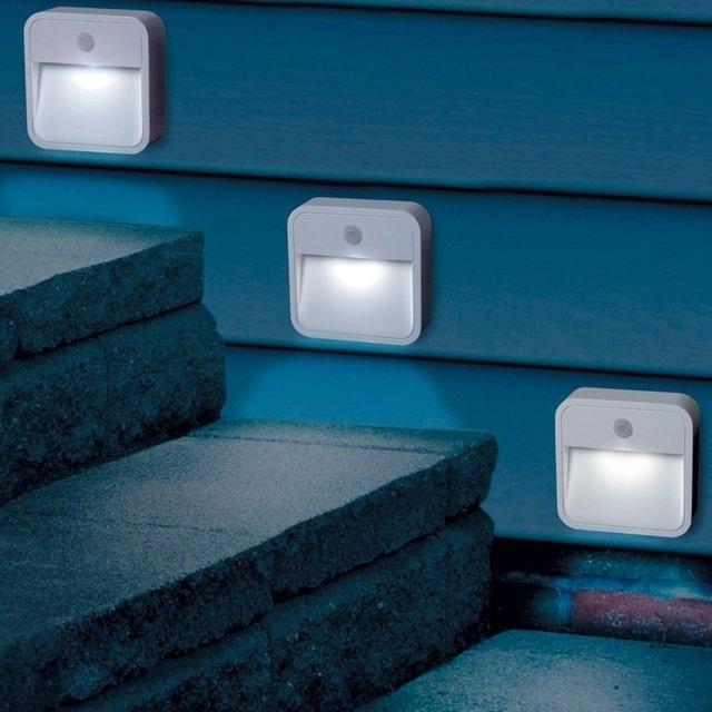 Motion Sensor Outdoor Lights #tech #flow #gadget #gift #ideas #cool