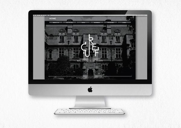 Branding for CUREF #madbull #cambridge #branding #uk #design #real #finance #estate