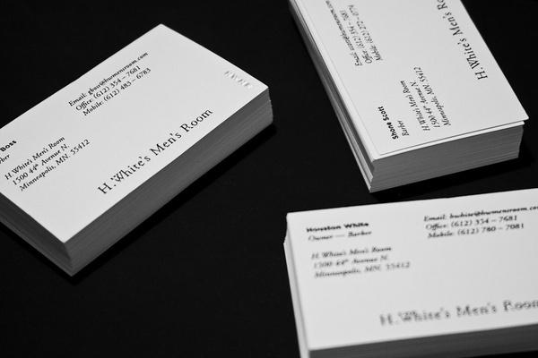 HWMR #print #letterpress #cards #business