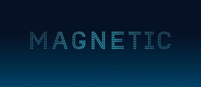 LOGO #branding #dots #magnetic #identity #logo
